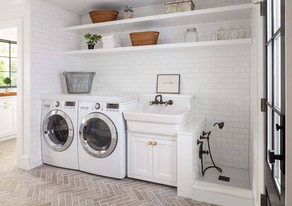 A Roundup Of Laundry Rooms So Gorgeous You Ll Actually Want To Do