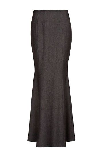 e76cfad35 Falda larga de corte sirena … | faldas todo tipo | Falda…