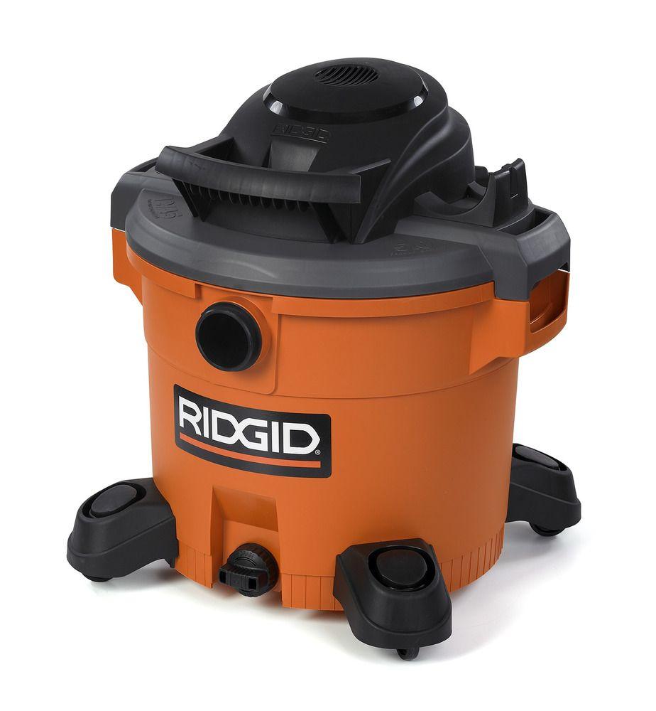 Ridgid 12 Gal 5 Php Wet Dry Vacuum 80 Wet Dry Vac Wet Dry Vacuum Tool Box Diy