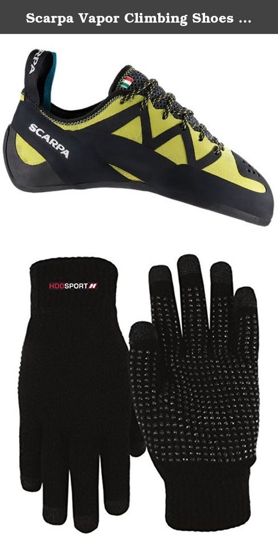 Men's Helix Climbing Shoes & E-Tip Glove Bundle