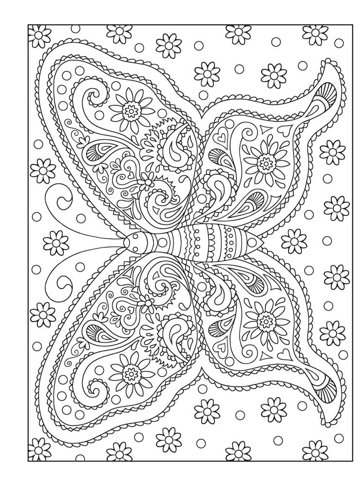 10 adult coloring books to help you de stress and self express - Free Adult Coloring Books