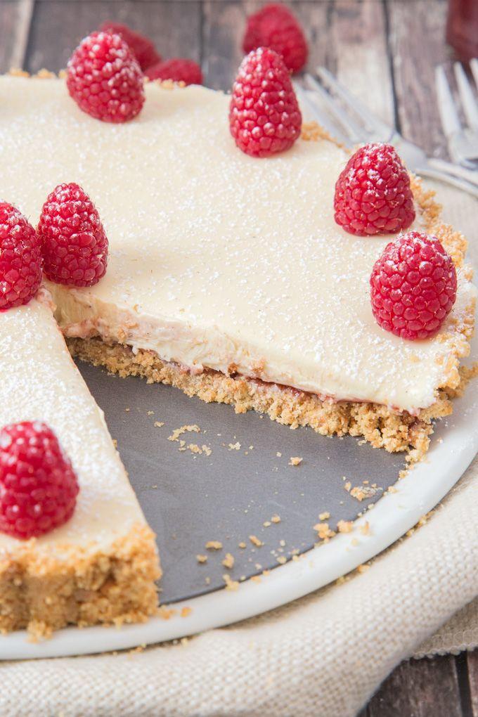 recipe: raspberry and white chocolate tart recipe [20]