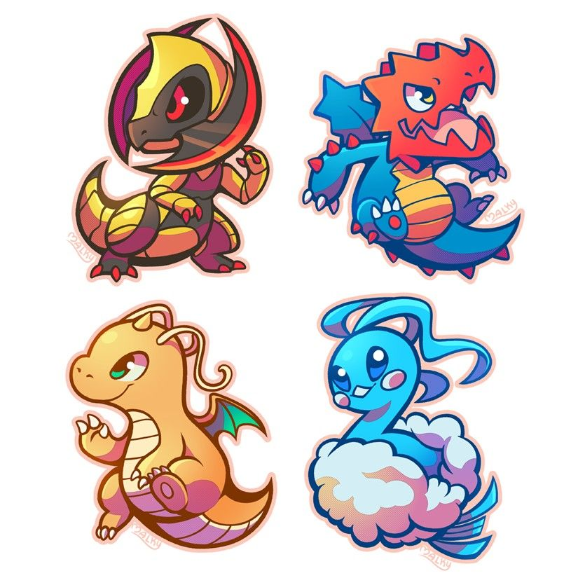 Pokemon chibi   Pokemon rayquaza