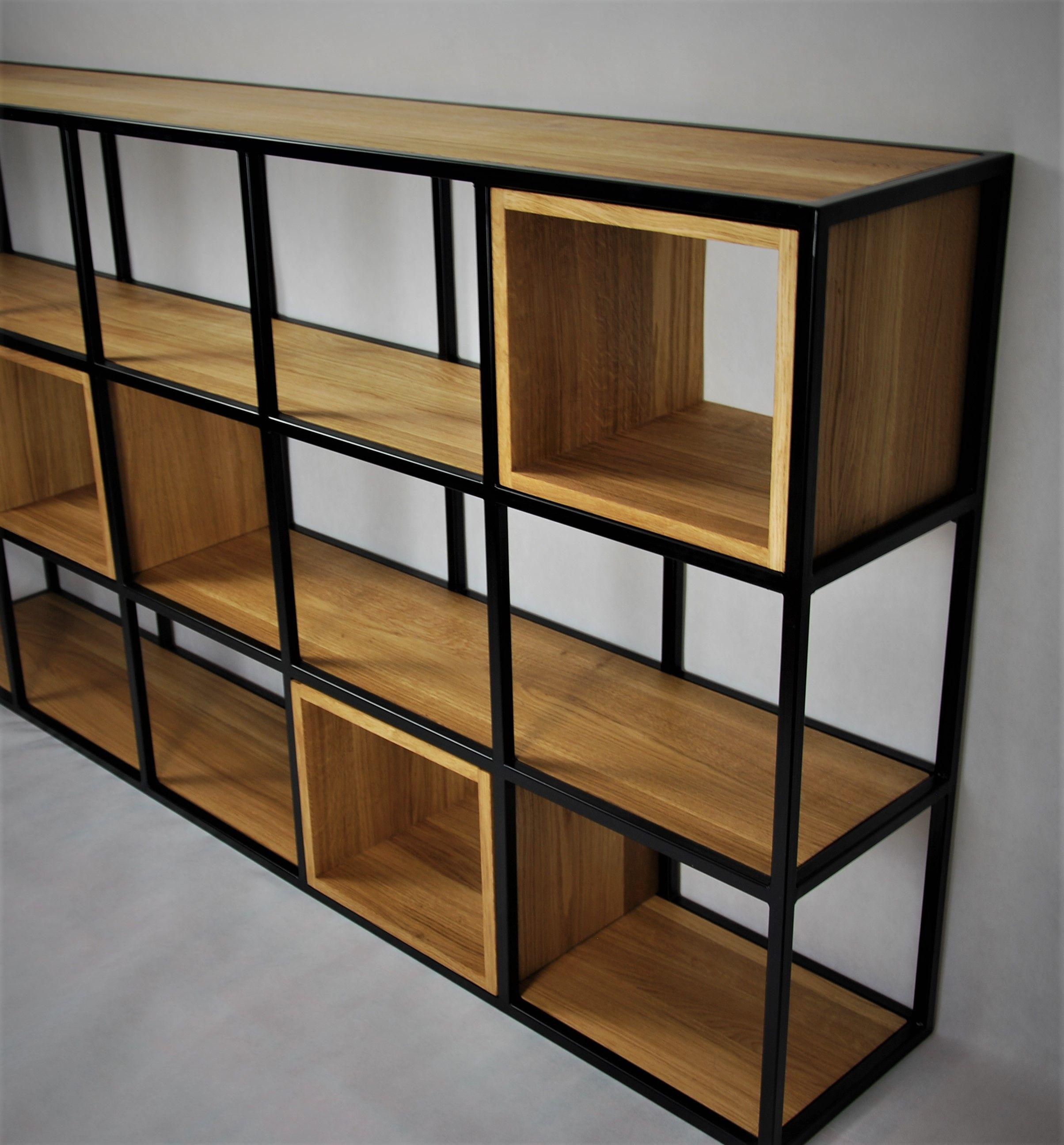 Regal Ze Skrzynek I Stali Woode Sign Regaly Room Diy Room Inspiration Home Decor
