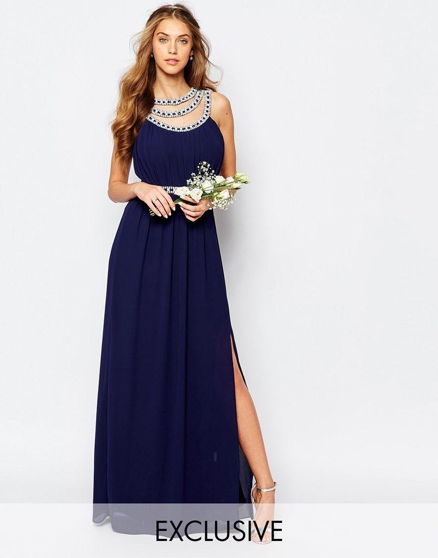 Tfnc wedding embellished maxi dress asos discountcoupons