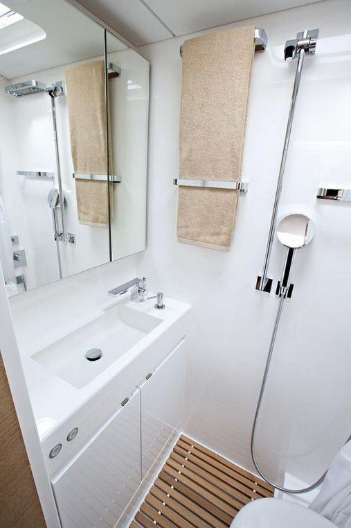 10 Brilliant Light Bright Rv Camper Bathroom Remodel Ideas
