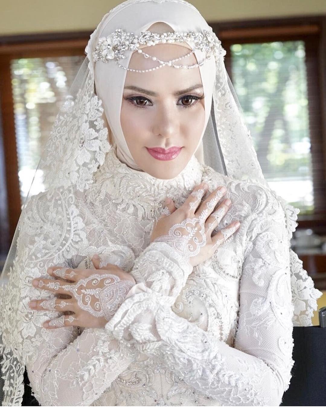 Gaun Pengantin Modern Hijab Mewah Info Kece