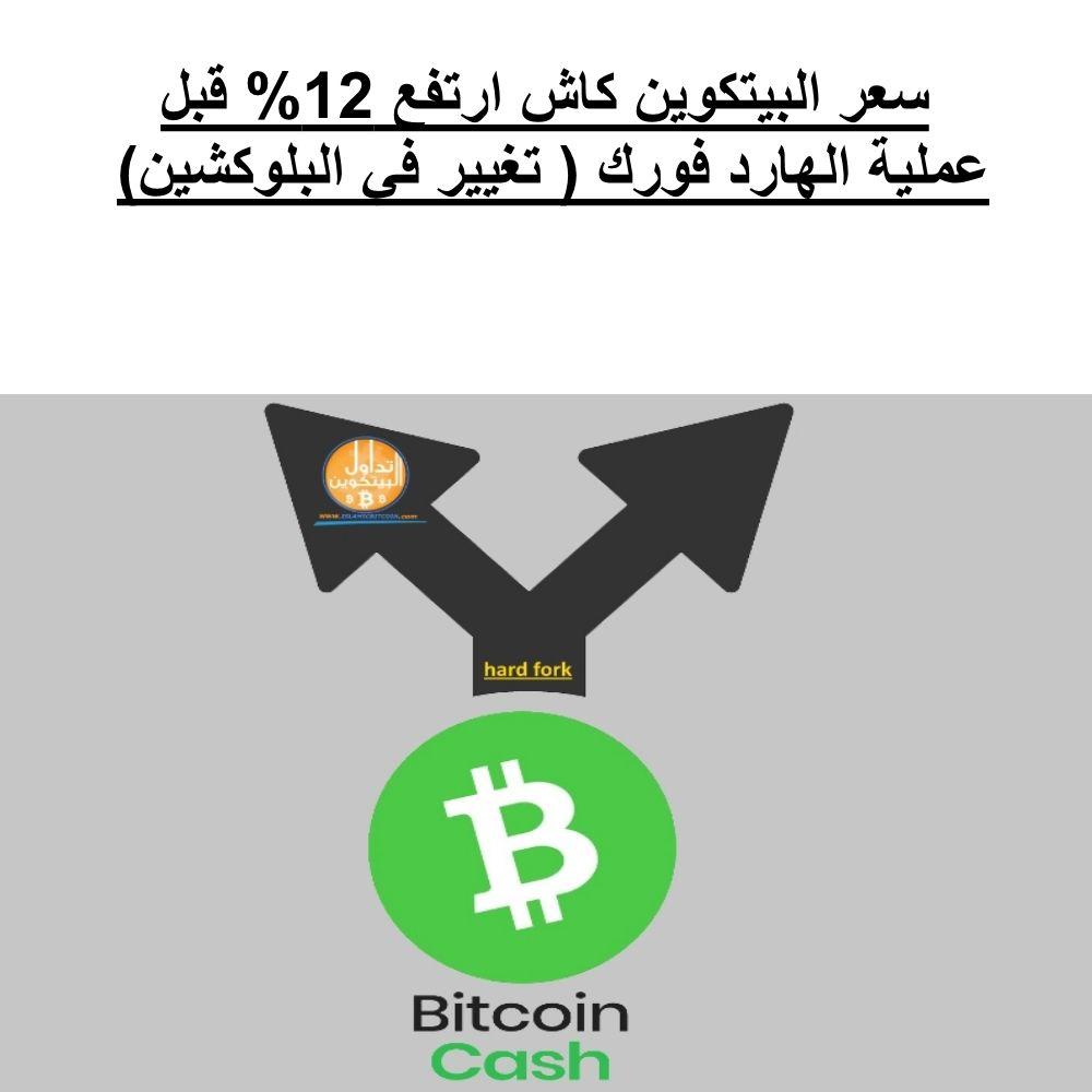 سعر البيتكوين كاش Bch ازداد على مدار الأربع وعشرين ساعة الماضية بحوالي 12 من 425 دولار إلى 477 دولار ا قبل الهارد فورك سعر البيتكوين كاش ا Bitcoin Hard