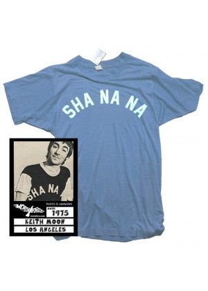 25d0cd32 Keith Moon - Sha Na Na T-Shirt - Keith Moon - Artist. Find this Pin and  more on Worn Free Licensed Tees ...