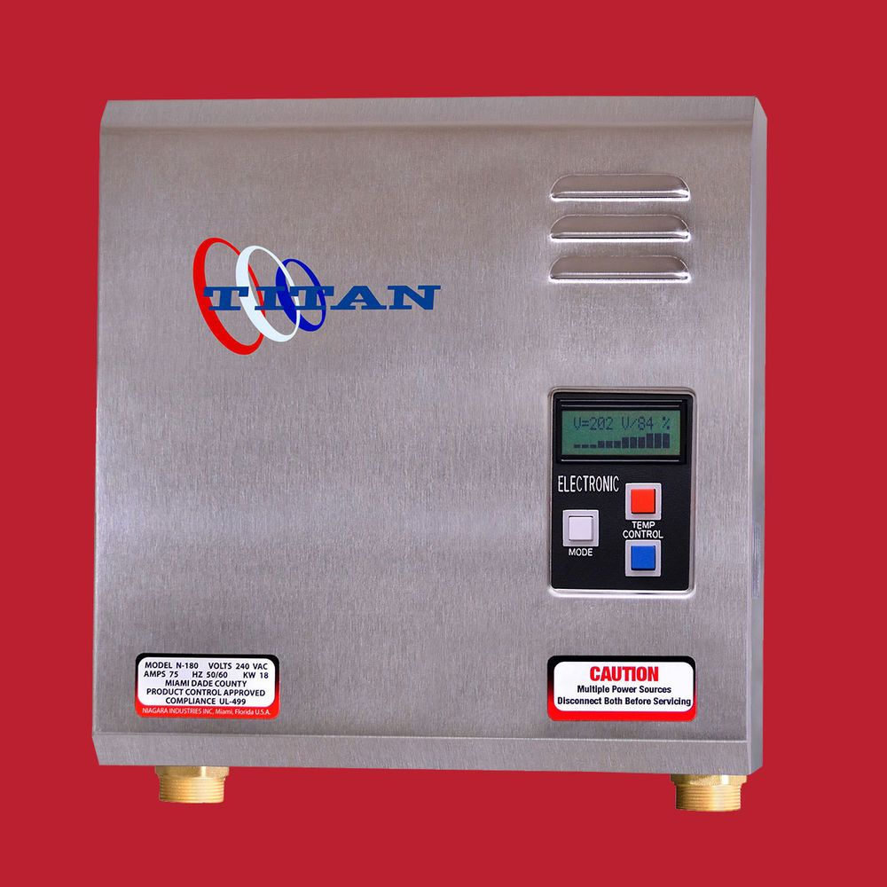 Details About Titan N 270 Tankless Water Heater New For 2020 Free Same Day Priority Shipping Tankless Water Heater Water Heater Heater