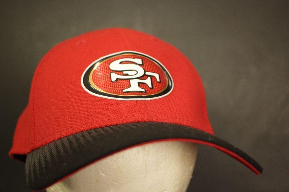 e9e6825f61cbe San Francisco 49ers Dad Hat Cap New Era 39thirty Stretch Fit Medium Large  NFL  NewEra  BaseballCap