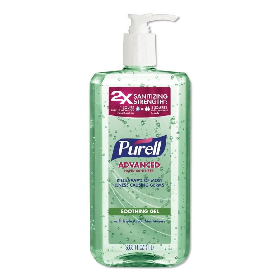 Purell Advanced Hand Sanitizer Soothing Gel Fresh Scent With Aloe