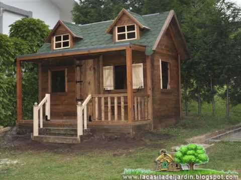 Construccion paso a paso de casita infantil para ni os dia for Cabanas infantiles en madera