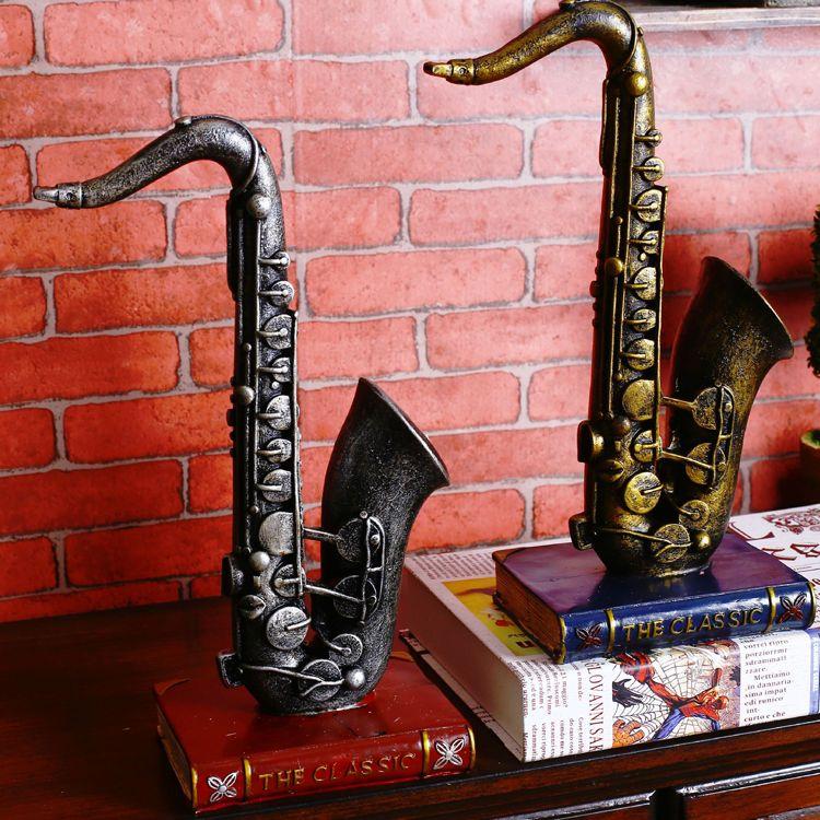 American Retro Sax Instruments Model The Living Room Shelf Clothing ...