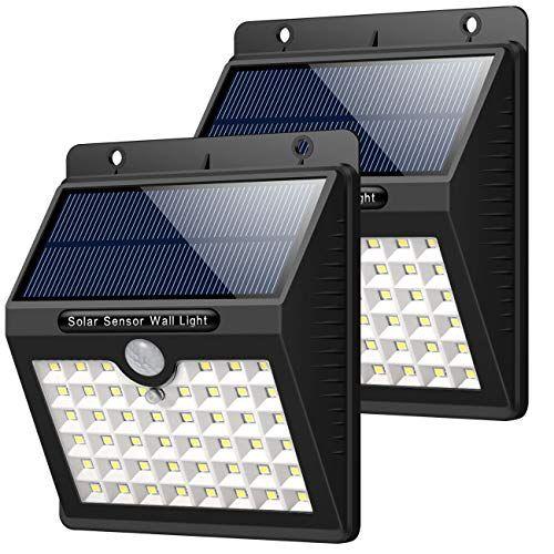 HETP Lampe Solaire Extérieur Jardin, 46 LED éclairage ...