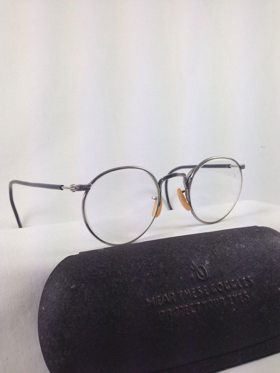 Vintage Bausch & Lomb Ful Vue Safety Glasses 23 Clear