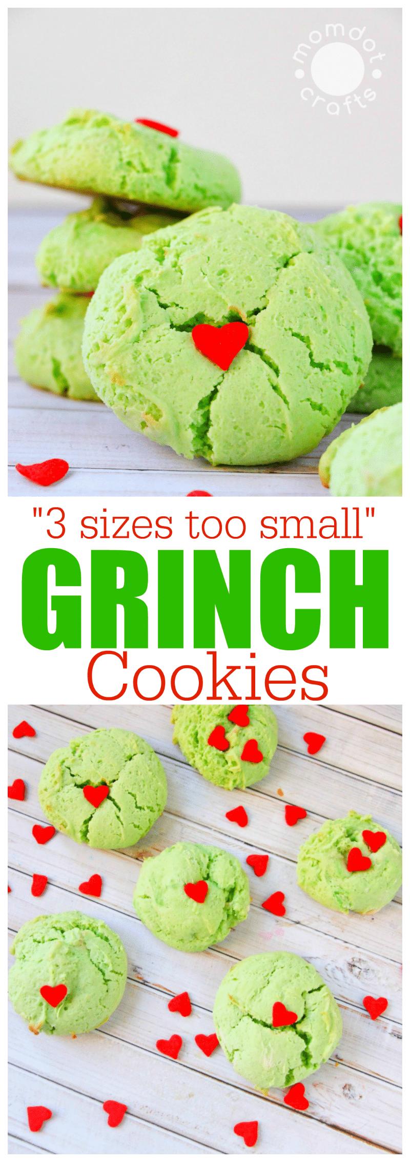 Grinch Christmas Cookie #grinchcookies