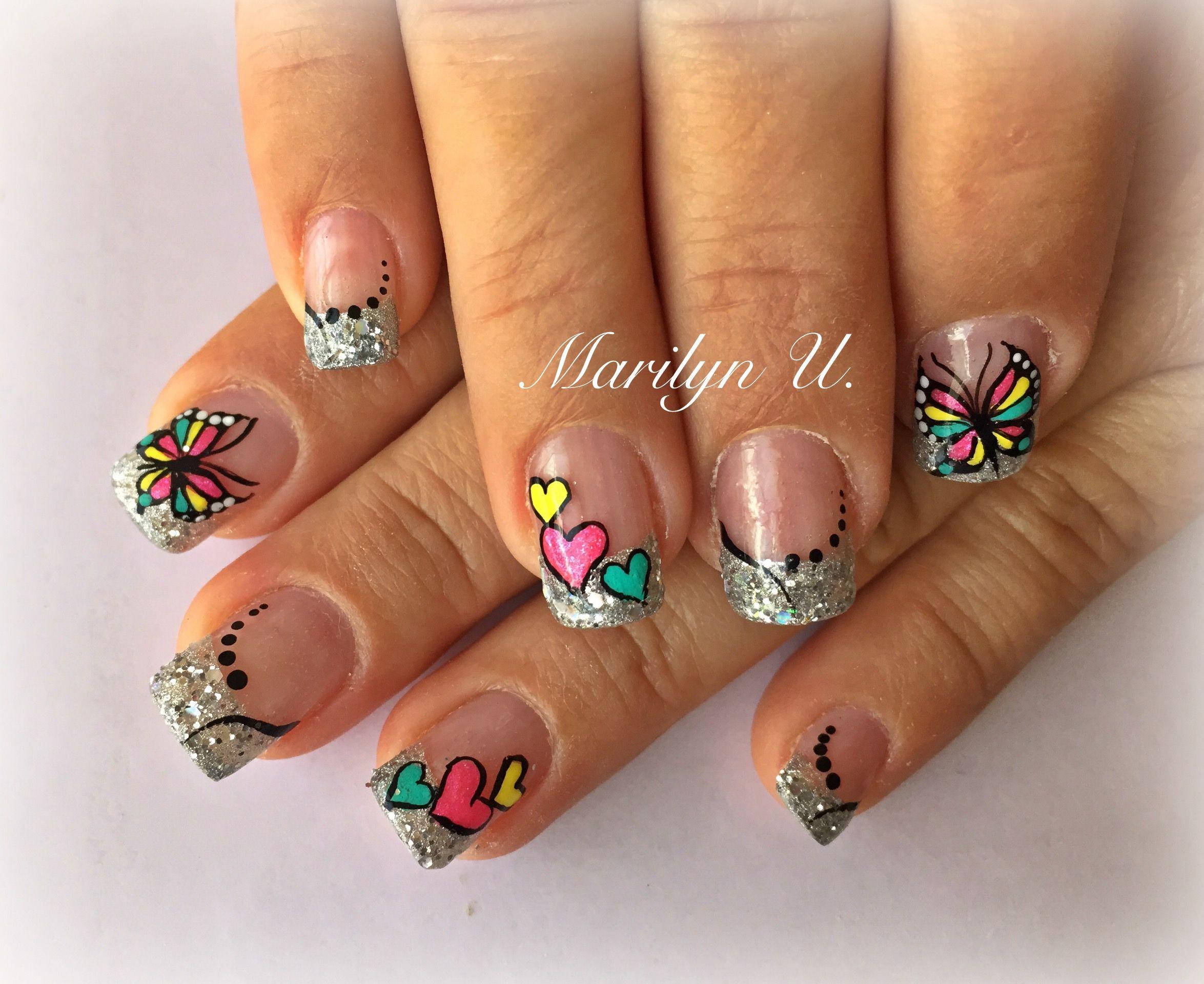 Pin von Jasmine Blagrave auf nail art | Pinterest