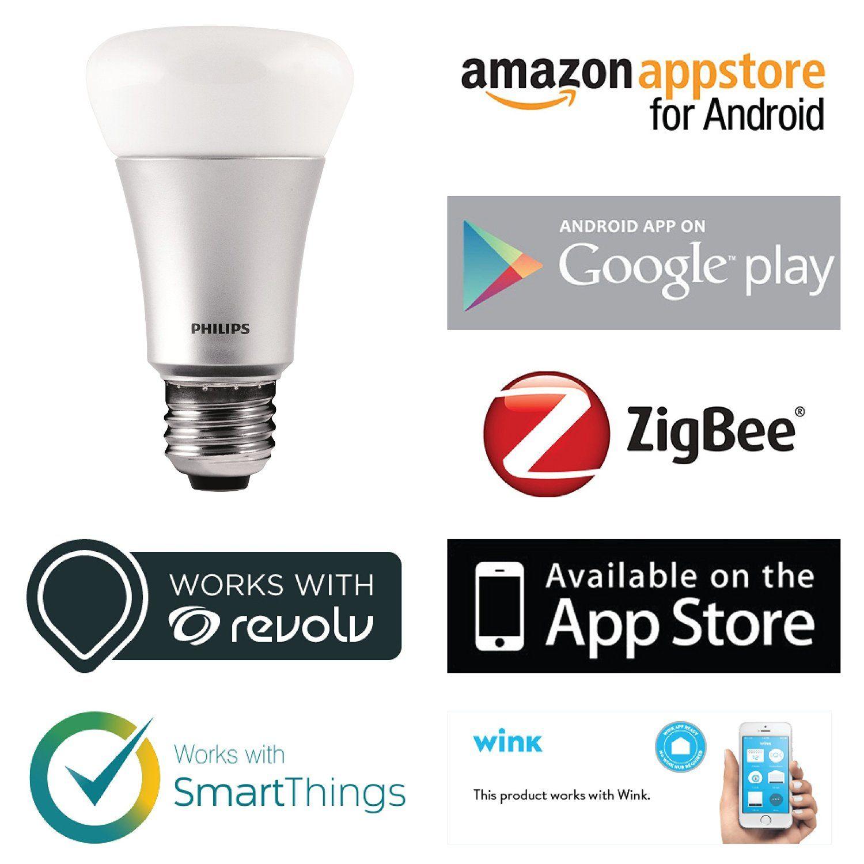 Amazon.com: Philips 431643 Hue Personal Wireless Lighting, Starter ...