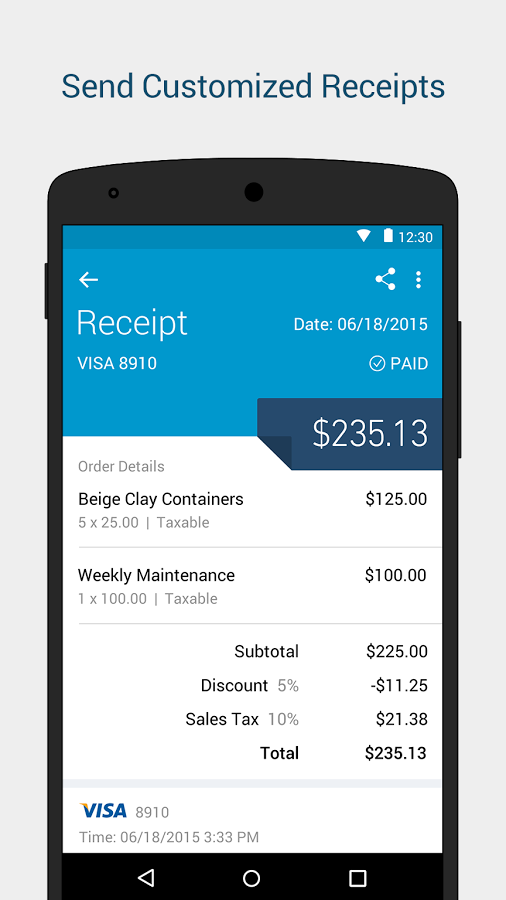 Intuit go payment app home screen google search android ui design also material rh pinterest