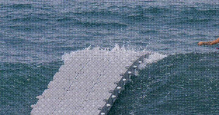 Catching the perfect wave