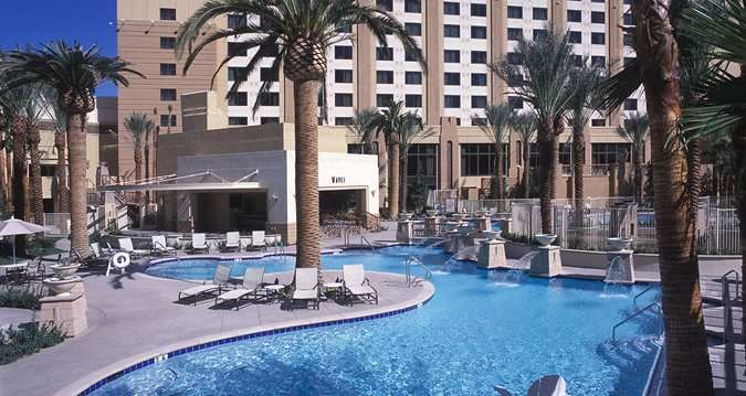 Hilton Grand Vacations Suites On The Las Vegas Strip Nv Hotels Pools Spas