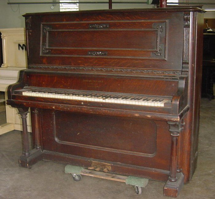 Hobart M. Cable Upright Piano | The Antique Piano Shop | old piano ...