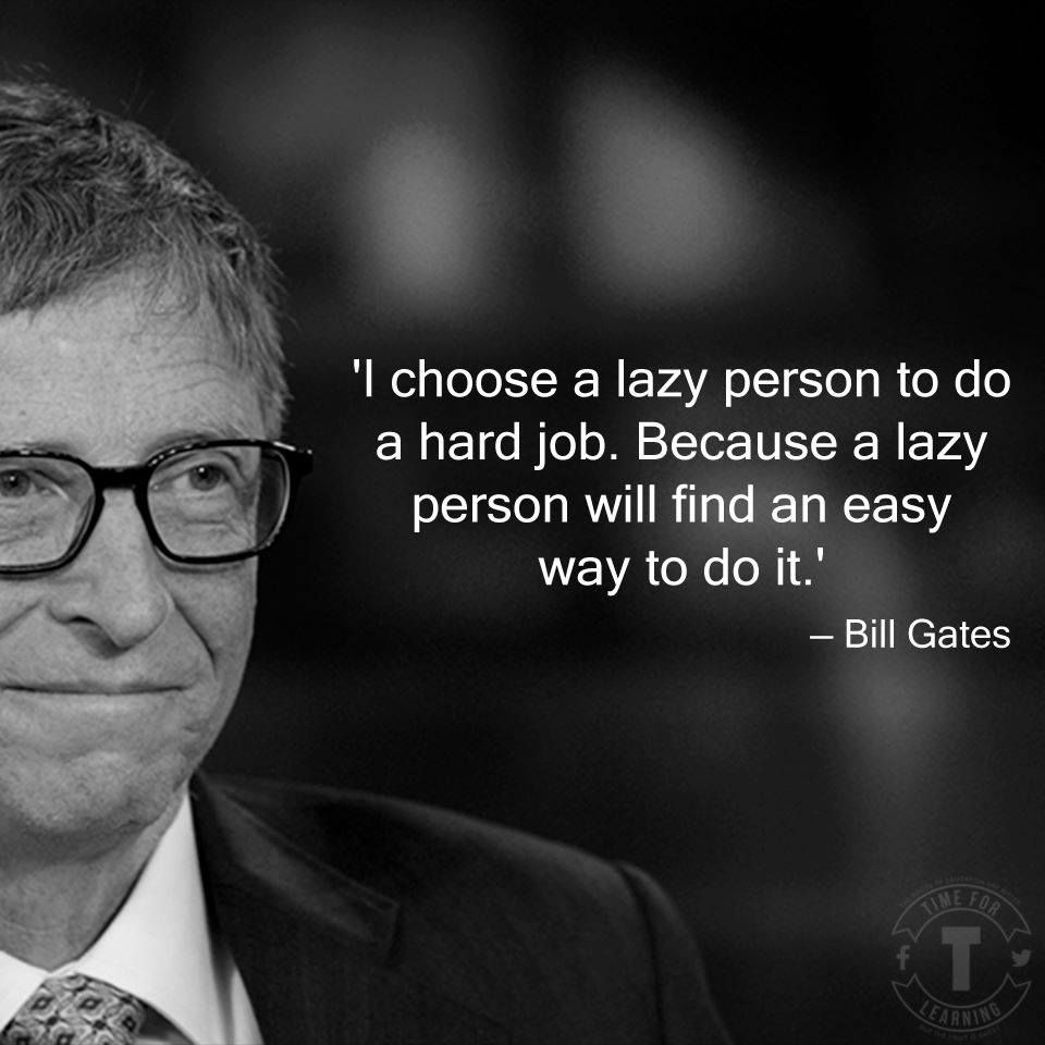 Interesting philosophy...