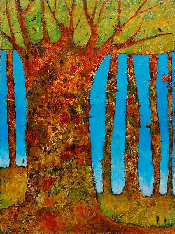 Jane Filer #tree #art