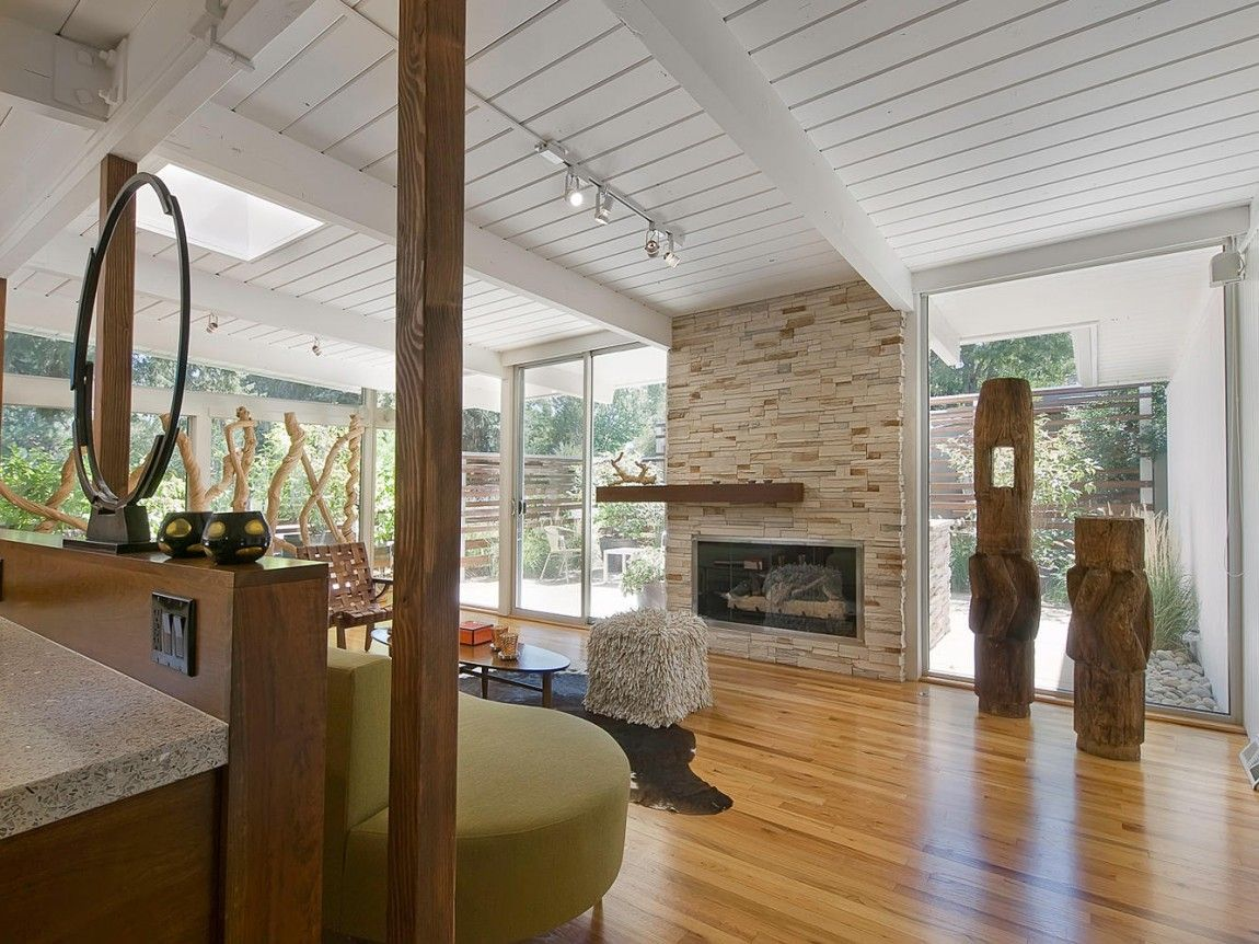 20 ranch style homes with modern interior style - Mitte Des Jahrhunderts Modernen Stil Zu Hause