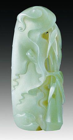 Chinese jade sculpture. 苏州玉雕精品