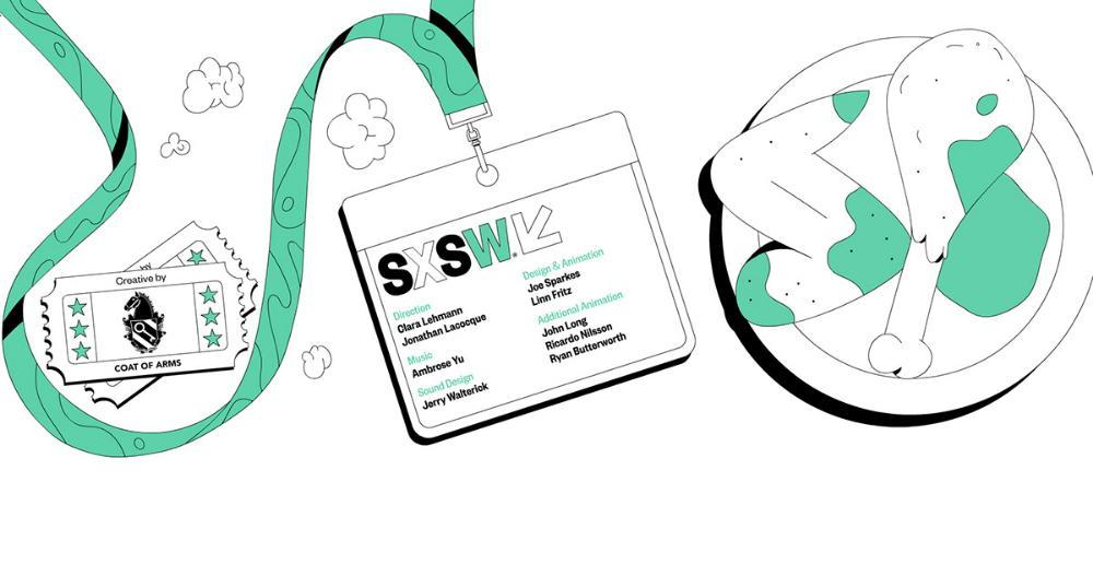 Sxsw 2019 On Behance Graphic Design Print Graphic Design Trends Sxsw