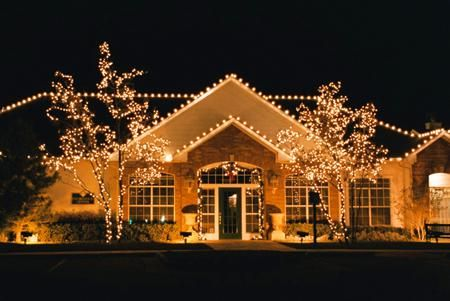 Decorating Small Front Yard Christmas Decorations Clearance Wedding 450x301 Outside Lighted Landscaping