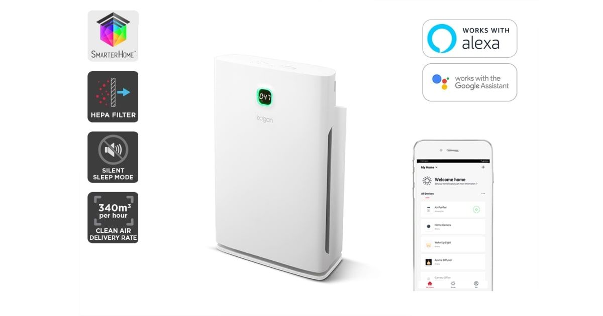 Kogan Smarterhome Smart Air Purifier Air Purifiers Smart