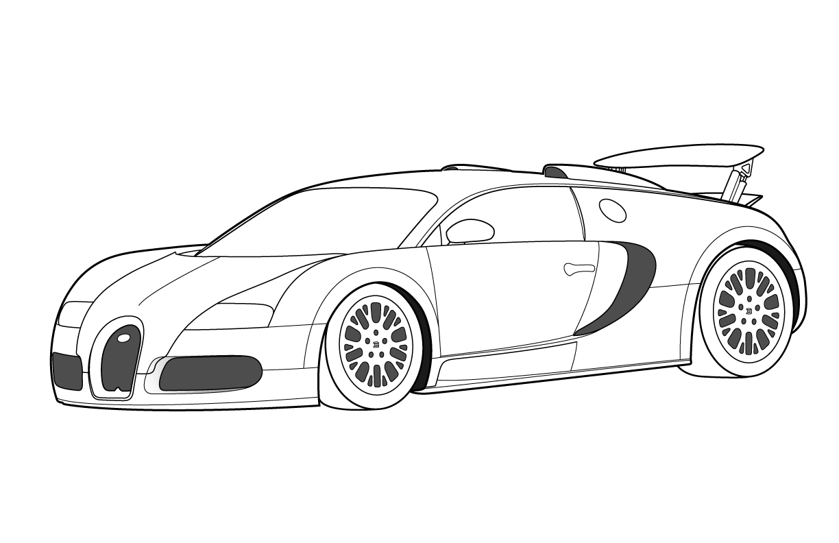 Free Printable Bugatti Coloring Pages For Kids Bugatti Veyron Cars Coloring Pages Bugatti