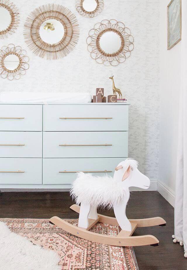 Best Modern Dresser With Horizontal Gold Handles 400 x 300