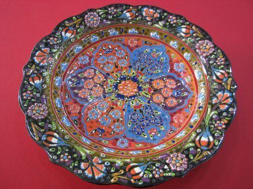 Iznik Turkish Decorative Plates | TURKISH HAND MADE IZNIK STYLE 12  CERAMIC PLATE & Iznik Turkish Decorative Plates | TURKISH HAND MADE IZNIK STYLE 12 ...