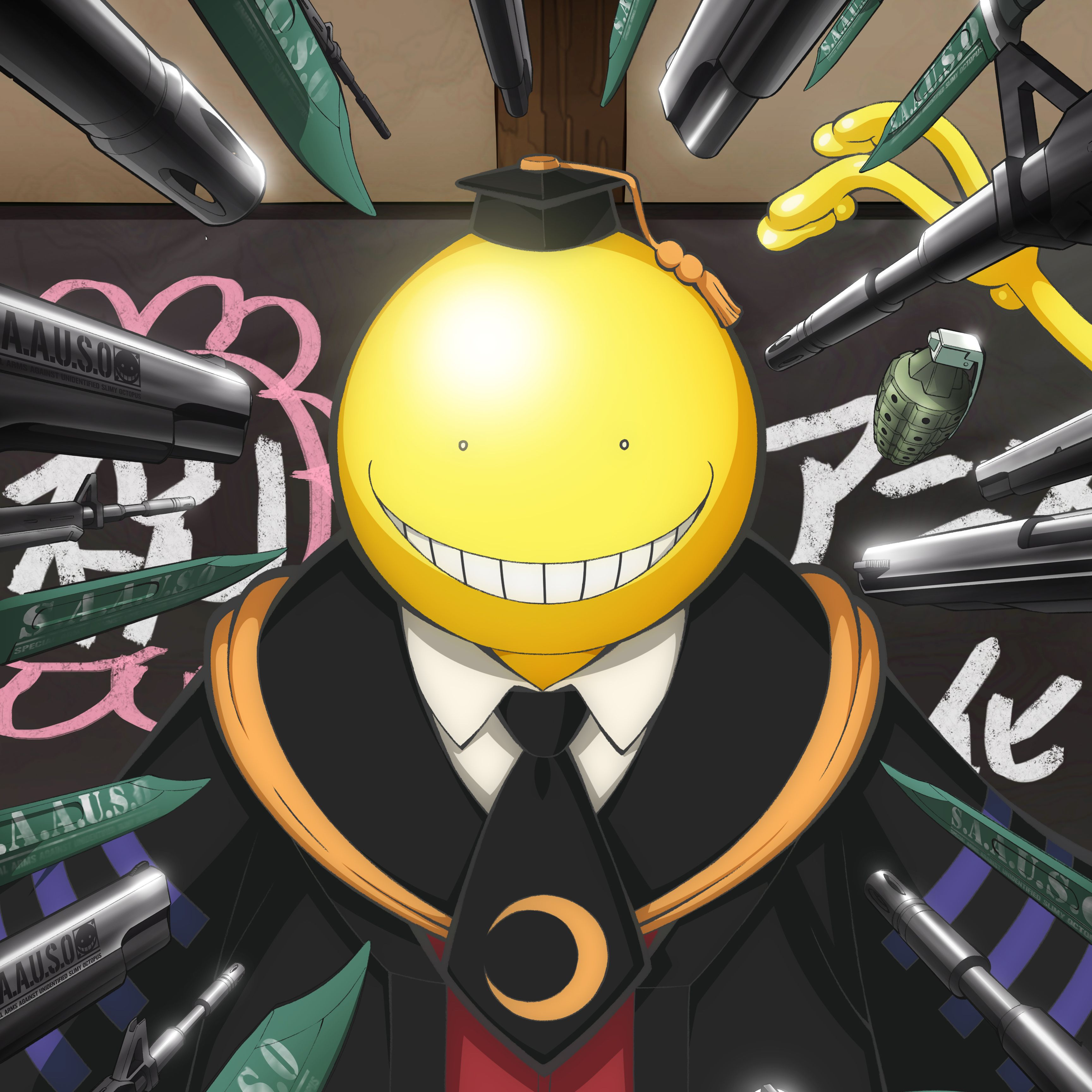 76 Assassination Classroom Classroom in 2020 (With images