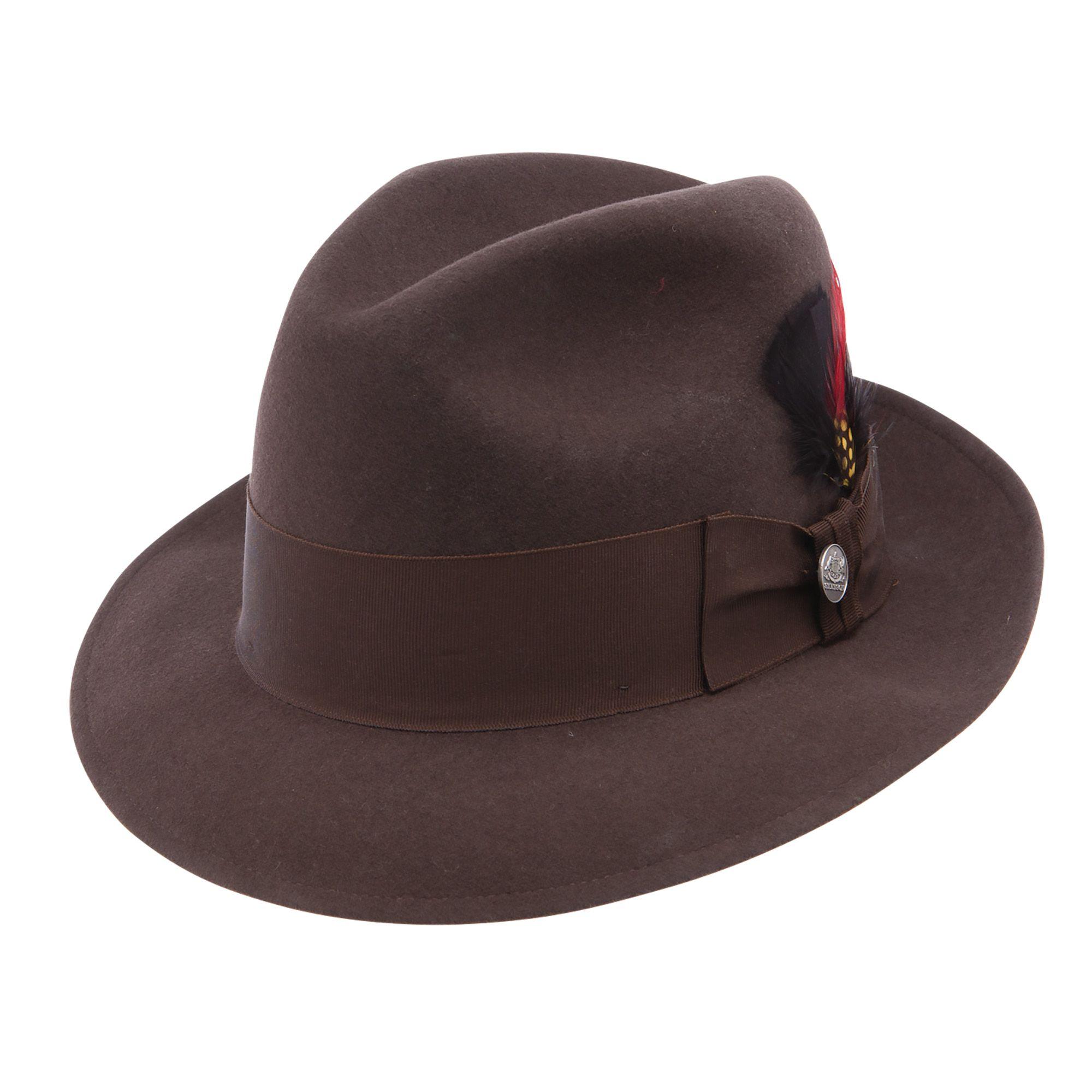 e92d2afd8 Fredrick   Stetson Dress Hats   Stetson fedora, Dress hats, Wool felt