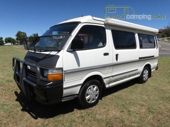 0c14f6839b 1990 Discoverer Toyota Hiace Camper – AUTO – GREAT VALUE