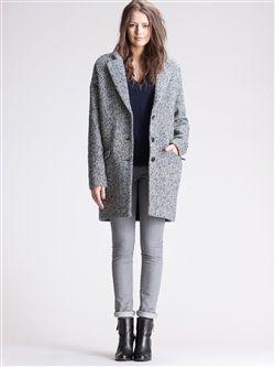 Étudiante Oversized Coat Forme Oeuf Pinterest Manteau Femme TwCt1xqxY