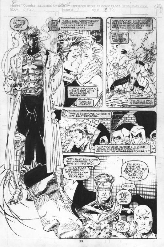 X-Men #8 Pg23 | Jim Lee