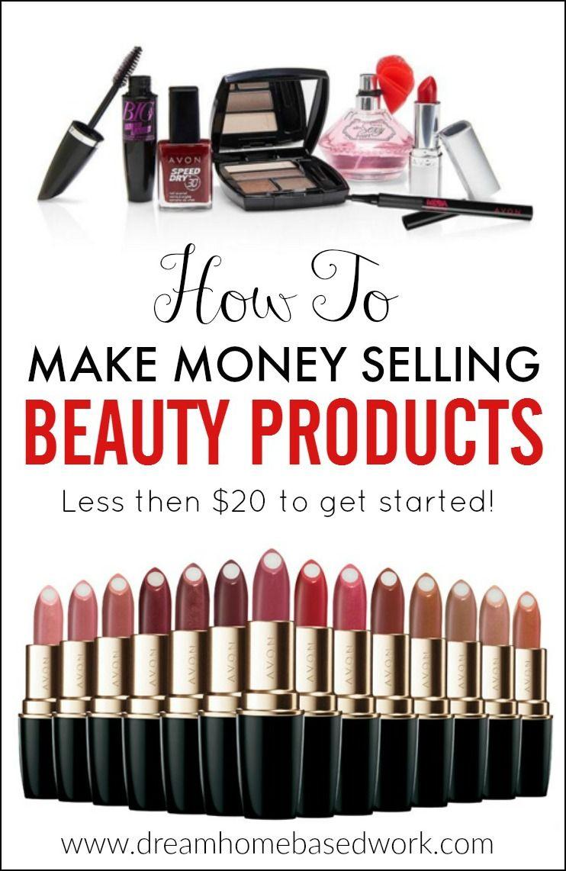 Make money selling cosmetics