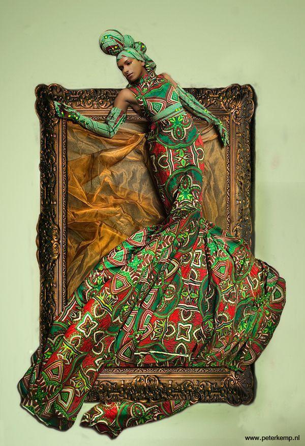 african inspired art
