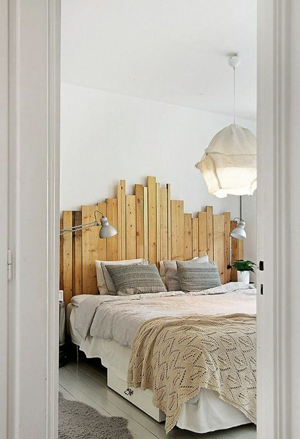 Kopfteil für\'s Bett | My dream home | Pinterest | Kopfteile, Bett ...