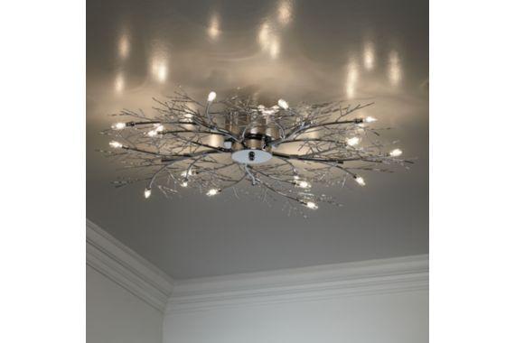 Modern Branch Chrome Possini Euro Design Ceiling Light For The Home
