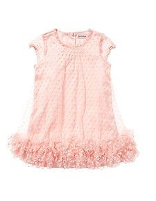 Girls Dotted Tulle Dress Juicy Couture