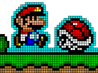 super mario pixel - Google Search