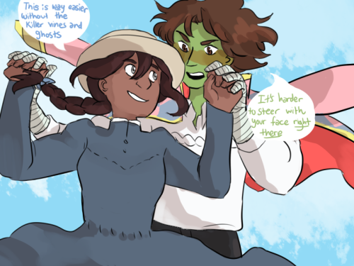 I saw amewi's  crossover idea and it's amazing. this crossover is everything I've ever wanted, ever. thank you amewi