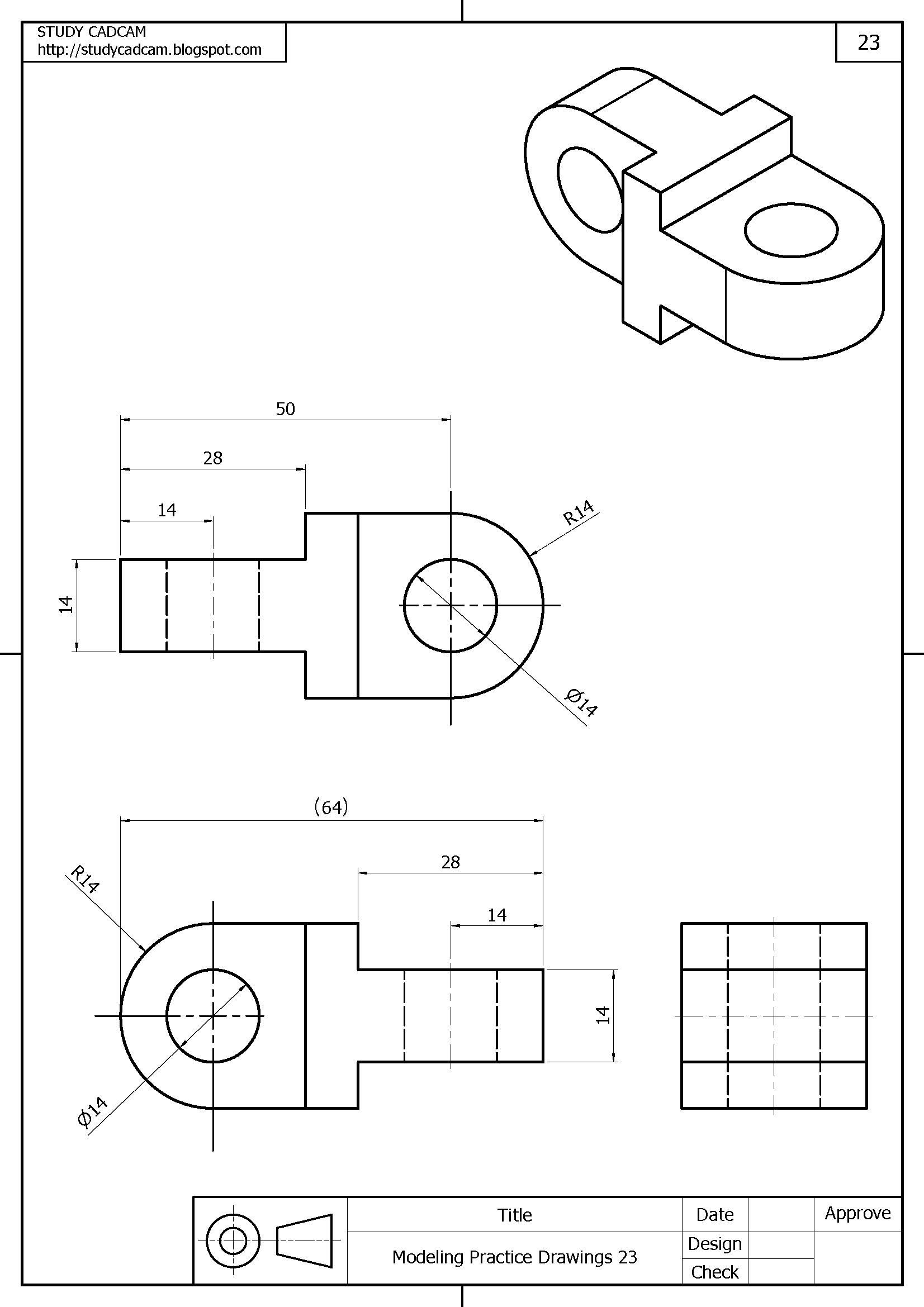 Dibujo Industrial Isometrico